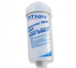 Filtr prysznicowy biały